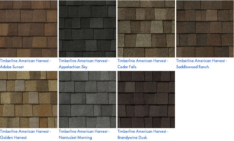 We Proudly Install Gaf Residential Roofing Shingles